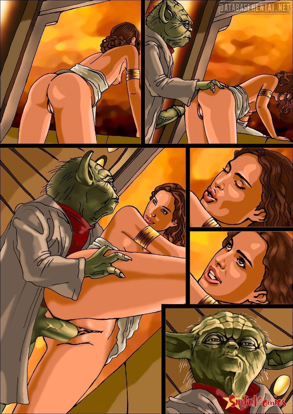 Idea has Yoda star wars porn hentai comics