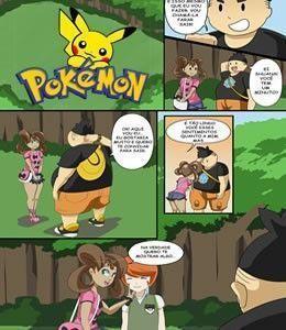 Treinadora de Pokemon Novinha e Gostosa