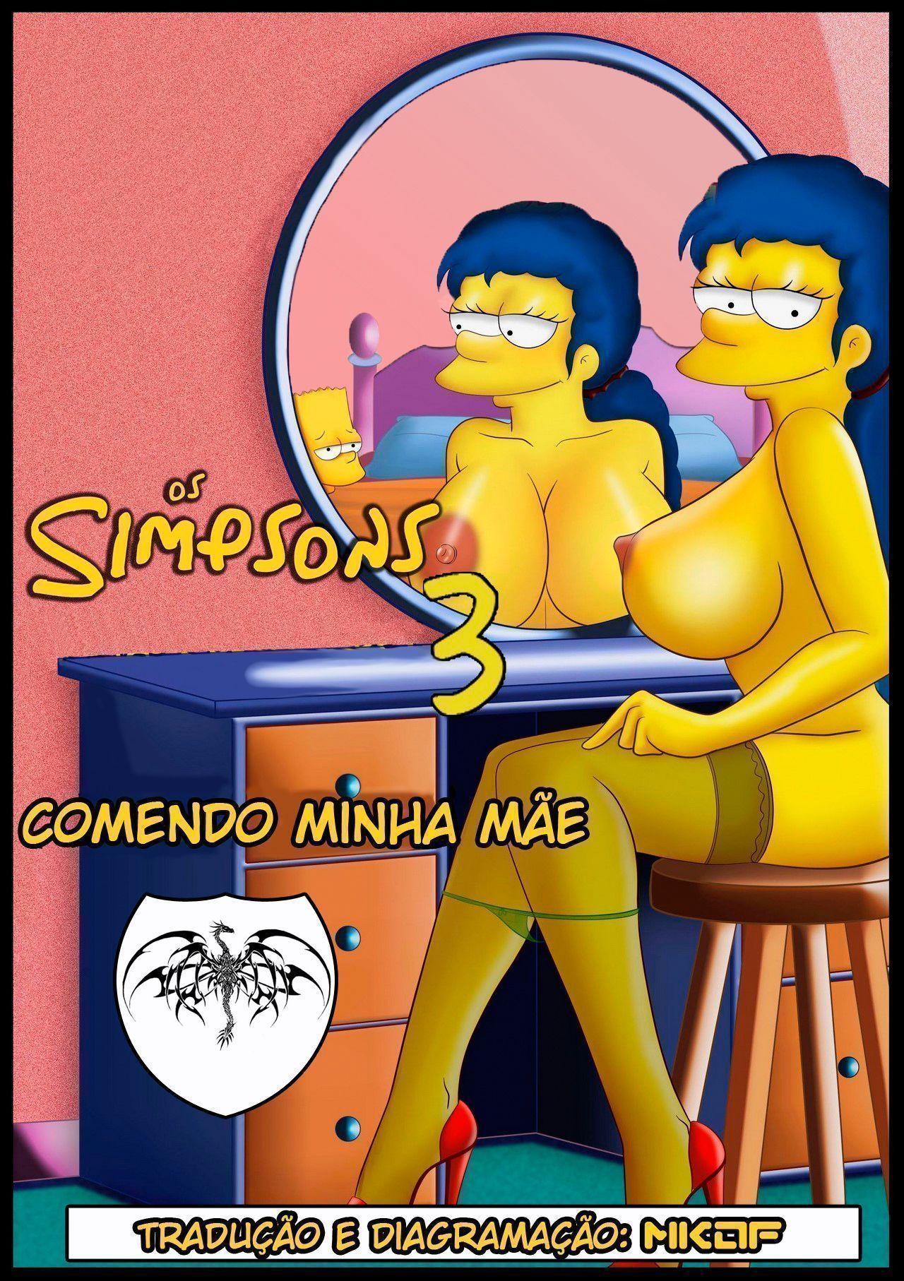 Порно симпсоны хентай онлайн
