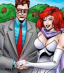 Wolverine e Jean Grey