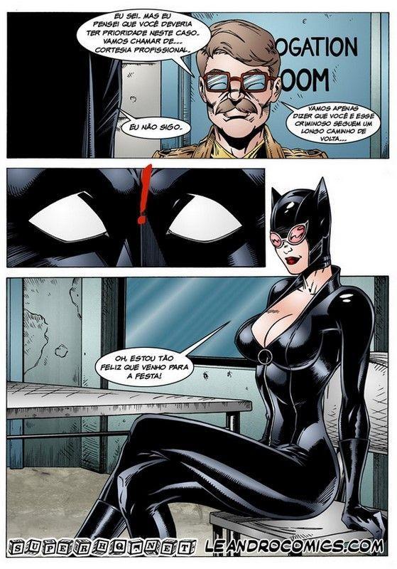Catwoman hentai porn