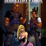 A russa peituda e a polícia de imigração