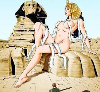 Encontrando uma múmia gostosa