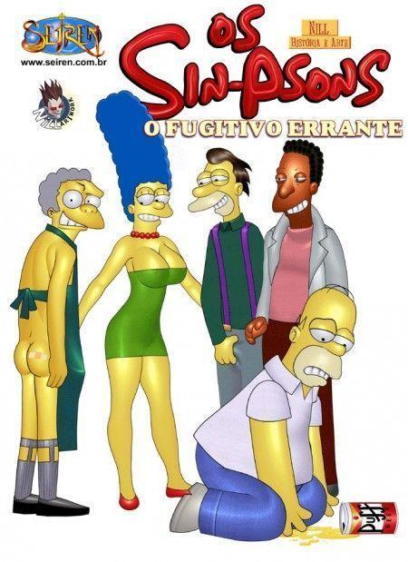 os simpsons pornô