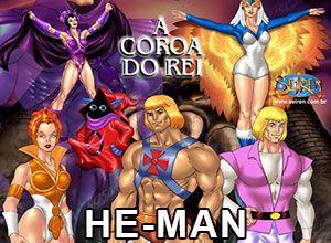 heróis pornô he man
