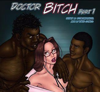 A médica louca por negros