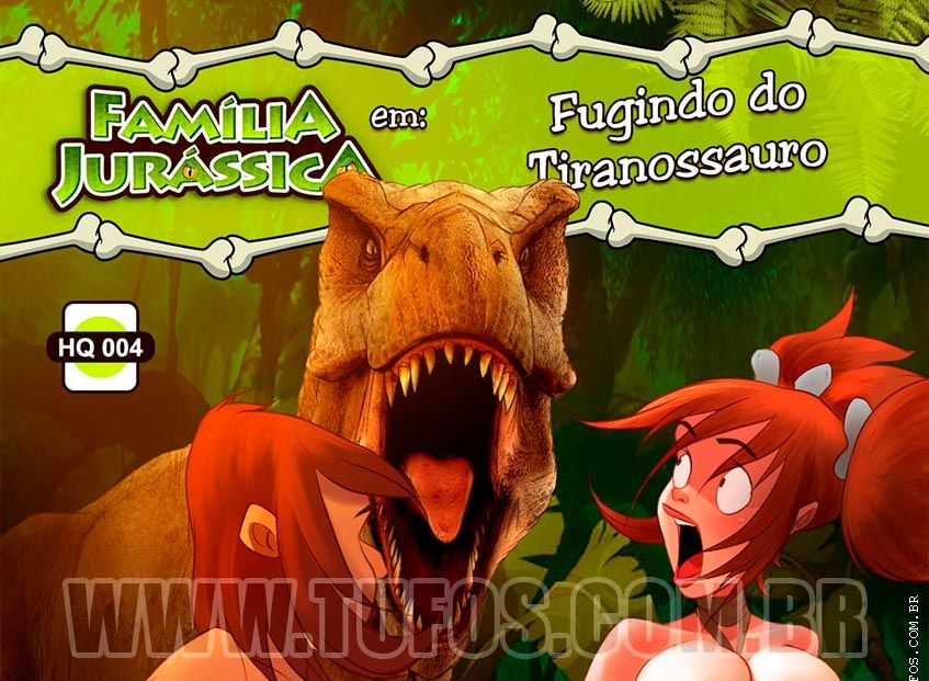 fugindo do tiranossauro