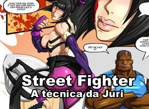 Street Fighter – A técnica da Juri
