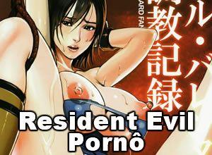 Resident Evil Pornô – Jill Valentine