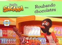roubando chocolates