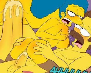 Os Simpsons Hentai: Velhos Hábitos