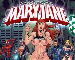 Mary Jane virou futanari