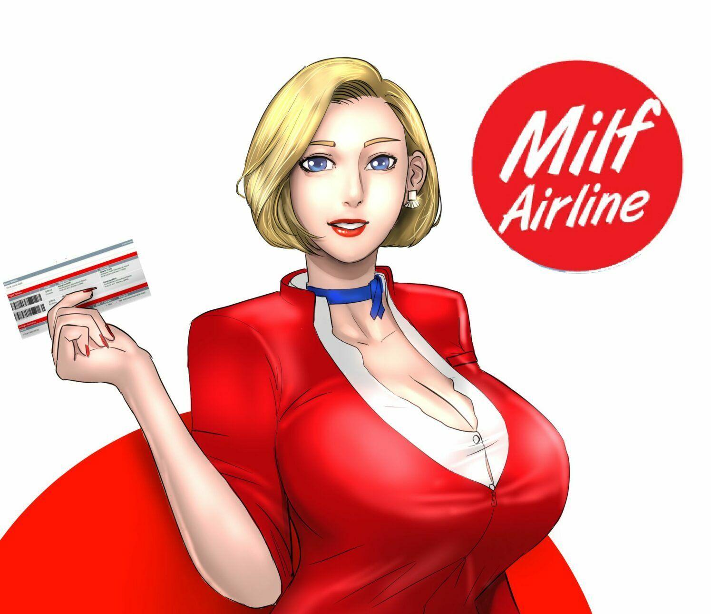 A linha aérea das milfs