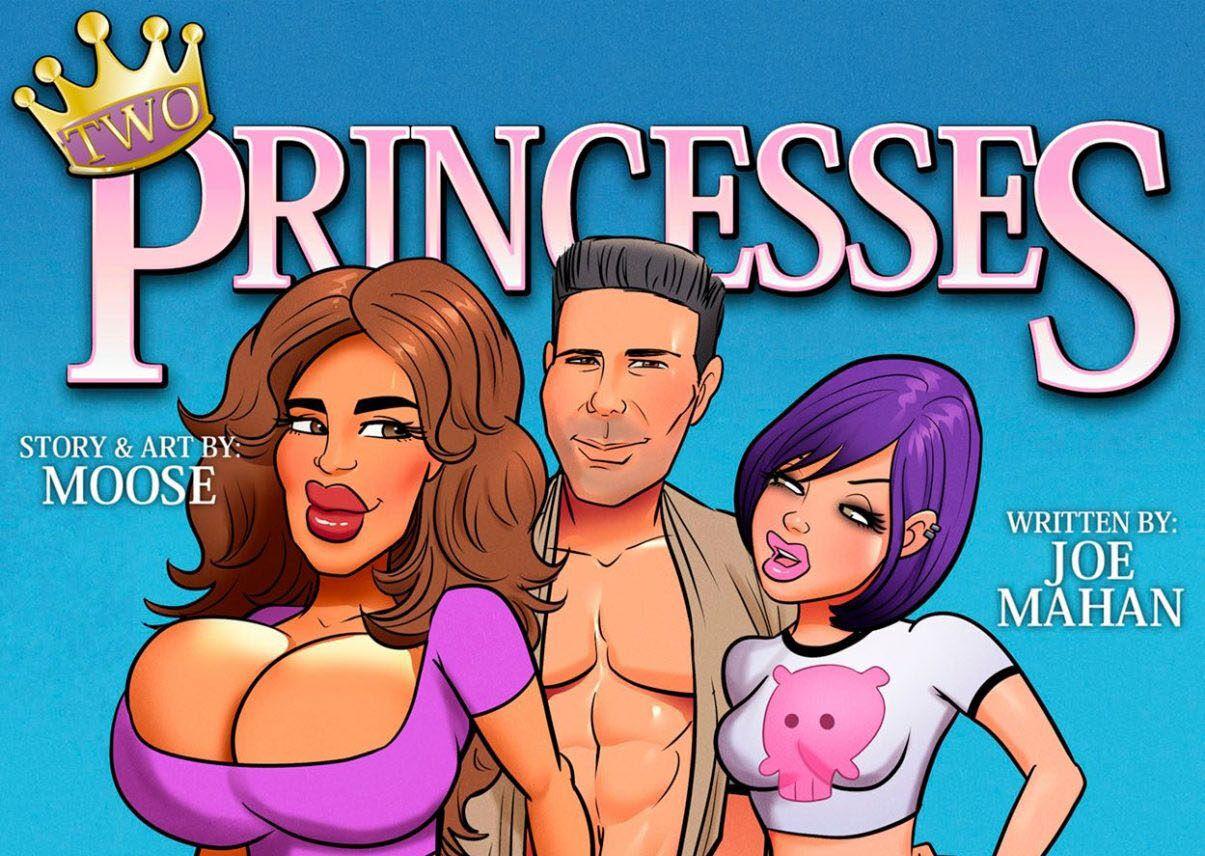 Na ilha com as princesas